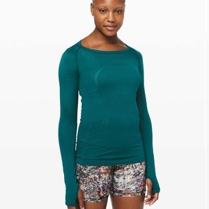 Lululemon Swiftly Tech long sleeve crew size 2